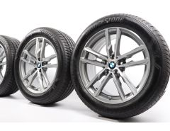 BMW Summer Wheels X3 G01 X4 G02 19 Inch Styling 698 M Double-Spoke
