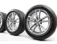 BMW Sommerkompletträder X3 G01 X4 G02 19 Zoll Styling 698 M Doppelspeiche