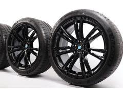 BMW Velgen met Zomerbanden M5 F90 20 Inch Styling 706 M Dubbelspaak