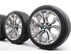 BMW Summer Wheels X5 F15 X6 F16 20 Inch Styling 451 Y-Speiche