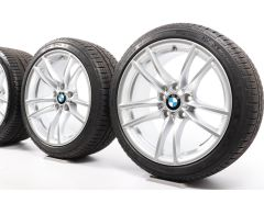 BMW Winter Wheels M2 F87 18 Inch Styling 640 M Doppelspeiche