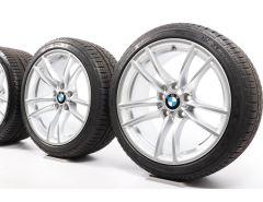 BMW Winterkompletträder M2 F87 18 Zoll Styling 640 M Doppelspeiche
