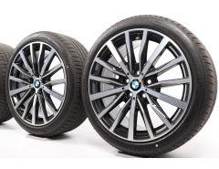 BMW Sommerkompletträder 1er F40 2er F44 18 Zoll Styling 488 Vielspeiche
