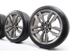 BMW Sommerkompletträder 7er G11 G12 20 Zoll Styling 760 M Doppelspeiche