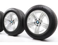 BMW Velgen met Zomerbanden 3 Serie F30 F31 4 Serie F32 F33 F36 16 Inch Styling 391 Sternspeiche