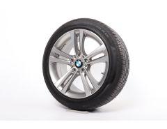 BMW Velgen met Zomerbanden 3 Serie F34 18 Inch Styling 397 Doppelspeiche