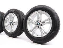 BMW Sommerkompletträder X3 G01 X4 G02 18 Zoll Styling 688 Doppelspeiche