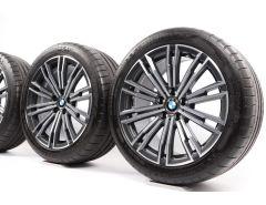 BMW Velgen met Zomerbanden 3 Serie G20 G21 18 Inch Styling 790 M Dubbelspaak