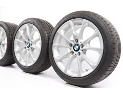 BMW Sommerkompletträder 3er F30 F31 4er F32 F33 F36 18 Zoll Styling 398 Y-Speiche