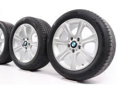 BMW Sommerkompletträder 3er F30 F31 4er F32 F33 F36 17 Zoll Styling 394 Sternspeiche