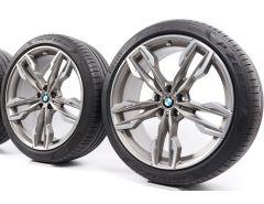 BMW Summer Wheels X3 G01 X4 G02 21 Inch Styling 718 M Doppelspeiche