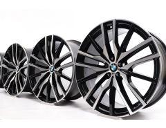 BMW Velgen X5 G05 X6 G06 22 Inch Styling 742