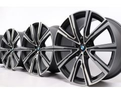 BMW Alloy Rims X5 G05 X6 G06 22 Inch Styling 746