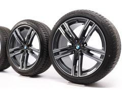 BMW Winterkompletträder 8er G14 G15 G16 19 Zoll Styling 727 M Doppelspeiche