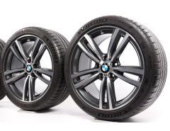 BMW Velgen met Zomerbanden 3 Serie F30 F31 4 Serie F32 F33 F36 19 Inch Styling 442 M Doppelspeiche