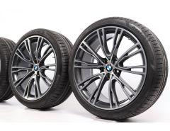 BMW Summer Wheels X3 G01 X4 G02 21 Inch Styling 726 V-Spoke