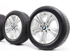 BMW Sommerkompletträder 3er F30 F31 4er F32 F33 F36 17 Zoll Styling 392 Doppelspeiche