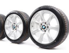 BMW Velgen met Zomerbanden 3 Serie F30 F31 4 Serie F32 F33 F36 18 Inch Styling 396 Sterspaak