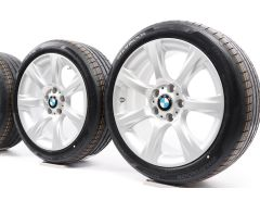 BMW Sommerkompletträder 3er F30 F31 4er F32 F33 F36 18 Zoll Styling 396 Sternspeiche