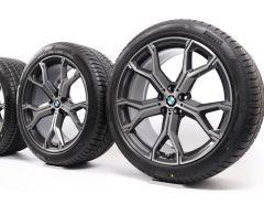 BMW Winter Wheels X5 G05 X6 G06 21 Inch Styling 741 M Y-Speiche