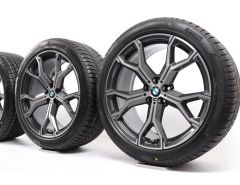 BMW Winter Wheels X5 G05 X6 G06 21 Inch Styling 741 M Y-Speiche