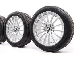 BMW Sommerkompletträder 5er G30 G31 18 Zoll Styling 619 Vielspeiche