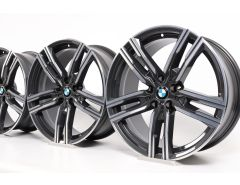BMW Alloy Rims 8 Series G14 G15 G16 19 Inch Styling 727 Double-Spoke