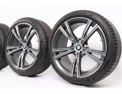 BMW Velgen met Zomerbanden 3 Serie G20 G21 4 Serie G22 G23 19 Inch Styling 793i Doppelspeiche