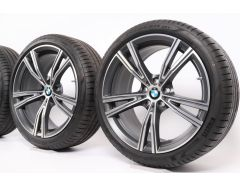 BMW Velgen met Zomerbanden 3 Serie G20 G21 4 Serie G22 19 Inch Styling 793i Doppelspeiche