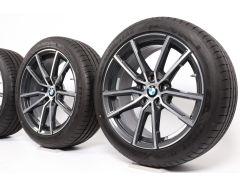 BMW Velgen met Zomerbanden 3 Serie G20 G21 18 Inch Styling 780 V-spaak