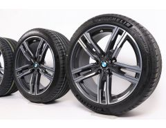 BMW Summer Wheels 8 Series G14 G15 G16 19 Inch Styling 727 M Double-Spoke