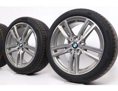 BMW Velgen met Zomerbanden 2 Serie F45 F46 18 Inch Styling 486 M Doppelspeiche