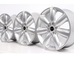 4x MINI Alloy Rims F54 Clubman 18 Inch Styling