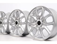 4x MINI Alloy Rims F55 F56 F57 16 Inch Styling Loop Spoke 494