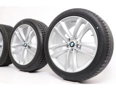BMW Sommerkompletträder 6er G32 7er G11 G12 19 Zoll Styling 630 Doppelspeiche