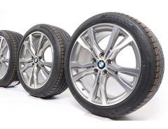 BMW Velgen met Zomerbanden 2 Serie F45 F46 18 Inch Styling 484 Y-Speiche