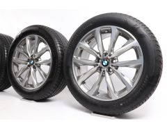 BMW Velgen met Zomerbanden X3 G01 X4 G02 19 Inch Styling 692 V-spaak