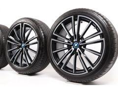 BMW Sommerkompletträder i8 I12 I15 20 Zoll Styling 516 Radialspeiche