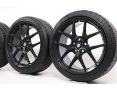 BMW Velgen met Zomerbanden 1 Serie F40 2 Serie F44 18 Inch Styling 554 M Y-spaak