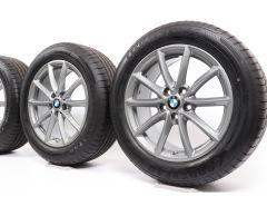BMW Sommerkompletträder X1 F48 X2 F39 17 Zoll Styling 683 V-Speiche