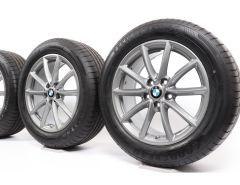 BMW Velgen met Winterbanden X1 F48 (ab 11/14) X2 F39 (ab 11/17) 17 Inch Styling 683 V-Speiche
