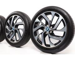 BMW Velgen met Zomerbanden i3 I01 19 Inch Styling 428 Turbinenstyling