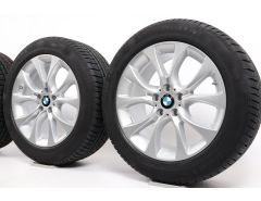 BMW Winter Wheels X5 E70 F15 19 Inch Styling 450 V-Speiche