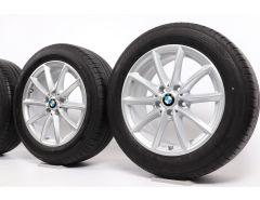 BMW Sommerkompletträder X1 F48 X2 F39 17 Zoll Styling 560 V-Speiche