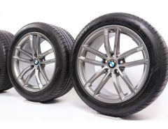 BMW Velgen met Zomerbanden 5 Serie G30 G31 18 Inch Styling 662 M Doppelspeiche