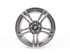 BMW Alufelge M2 F87 M4 F82 F83 M3 F80 19 Zoll Styling 437 M Doppelspeiche