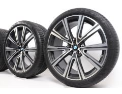 BMW Summer Wheels X5 G05 X6 G06 22 Inch Styling 746i V-Speiche