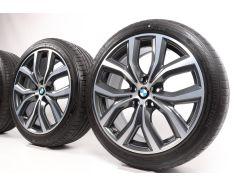BMW Sommerkompletträder X1 F48 X2 F39 19 Zoll Styling 511 Y-Speiche