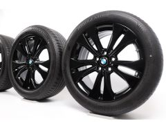 BMW Velgen met Zomerbanden X1 F48 X2 F39 18 Inch Styling 578 Doppelspeiche