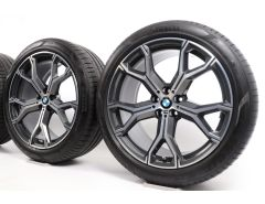 BMW Summer Wheels X5 G05 X6 G06 21 Inch Styling 741 M Y-Speiche